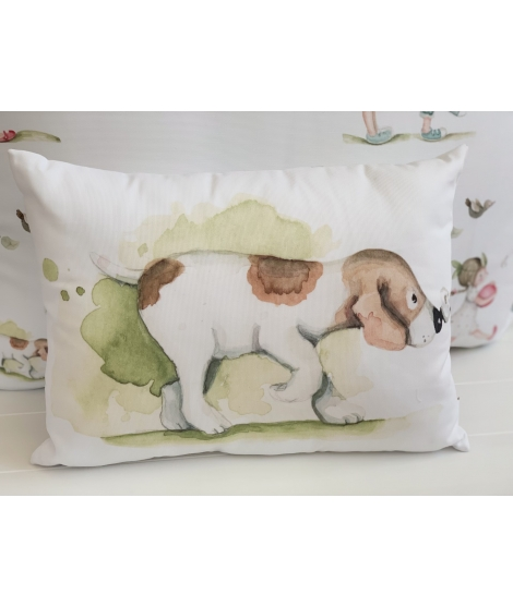 LITTLE DOG Personalized Pillow