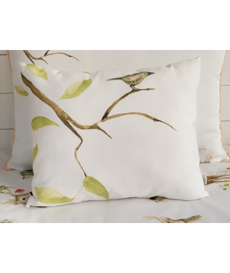BIRD ON THE BRANCH Personalized Pillow