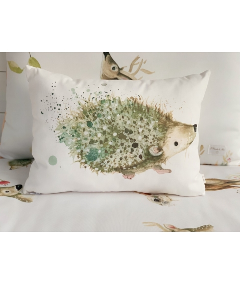 HEDGEHOG Personalized Pillow