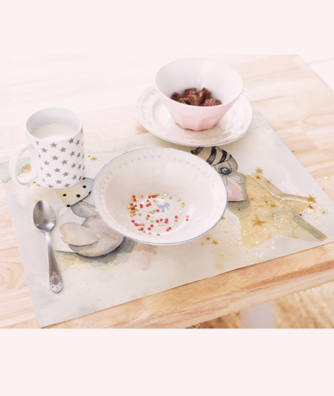 Individual infantiles placemat ABY