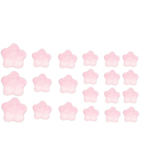 PINK STARS Swet dreams - Packs Of Vinyl Stickers