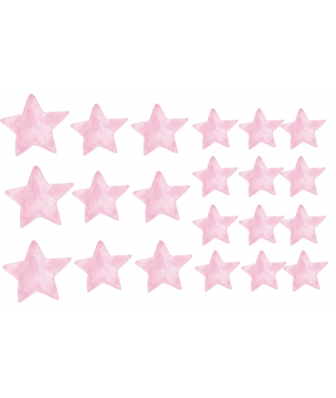 "copy of WALL STICKER SET ""Stars Furrowing the sky"""