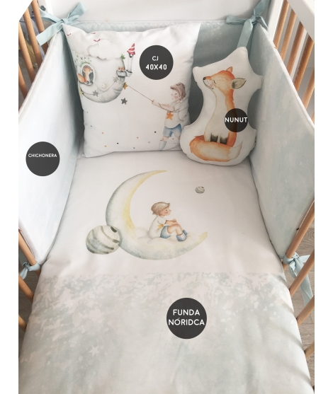 RAIN OF STARS BOY Set culla