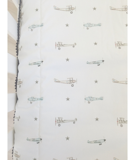 "Personalised quilt blanked ""Plane"""