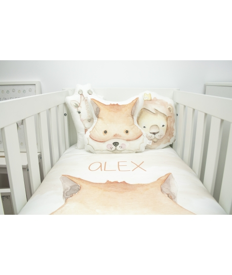 "Personalised quilt blanked ""Fox"""