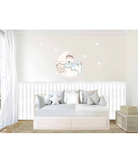 "OUTLET - Personalised Cot/Bed Set ""FIREFIGTHERS"""