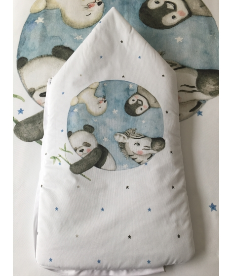 "Sleep sack ""Animals black and white"""