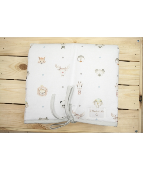 LITTLE FACES Portable Changing Mat