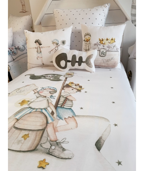 "Personalised Wall Sticker ""Kangarro and koala"""