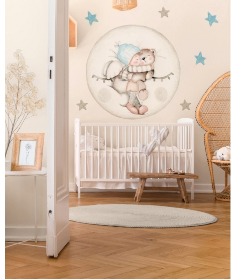 "Cushino infantile personalized ""Explorer"" -"