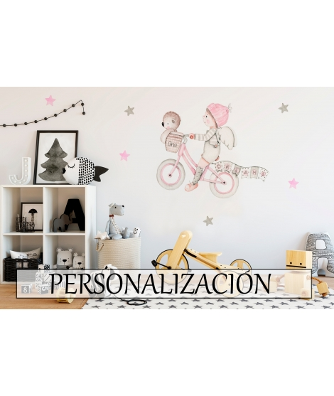 "Personalised Wall Sticker ""Dreams II"""