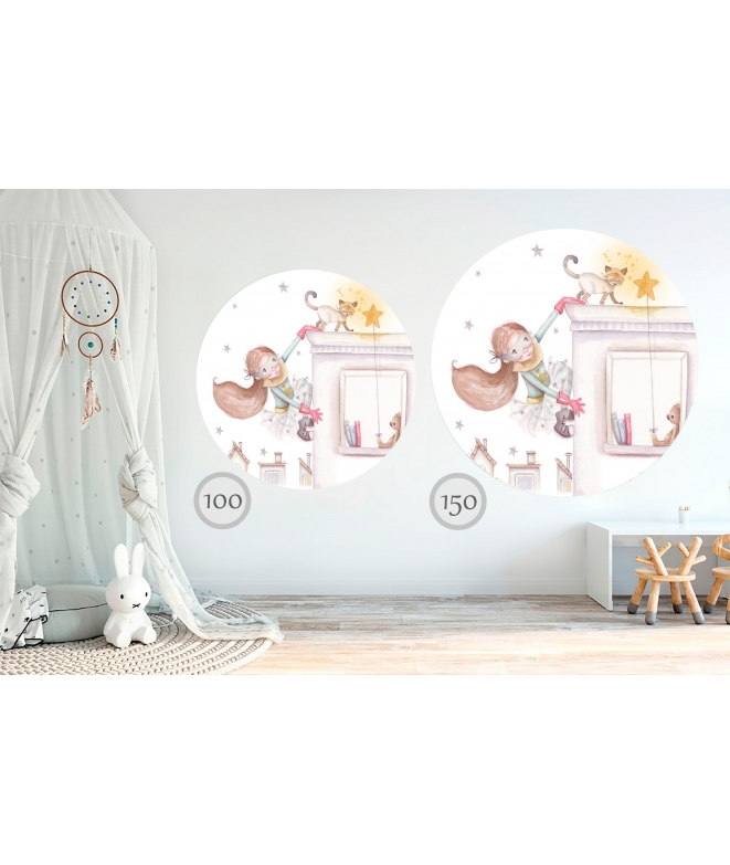 "Personalised Wall Sticker ""BOY IN SLEEPWEAR II"""