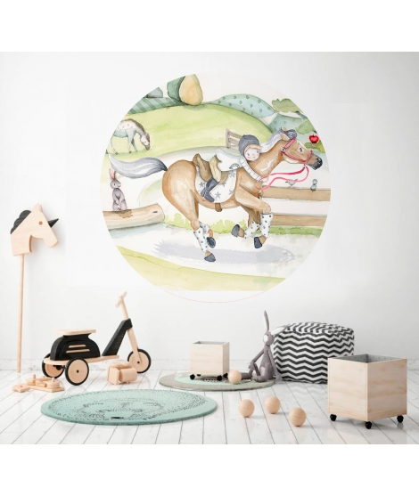 "Personalised Wall Mural ""AIR BALLON"" -"