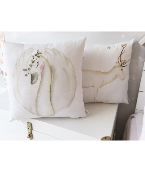 SWAN Personalized Pillow