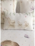 """Personalised Cot/Bed Set """"Little mouse on cloud"""""""
