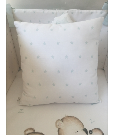 MICE ON THE BLUE STAR Personalized Pillow