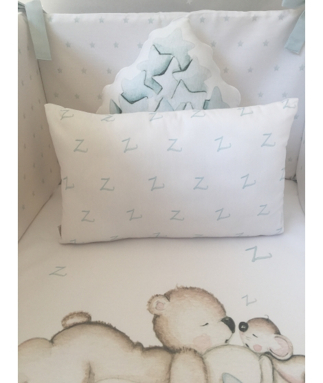 LOOKING FOR STARS BLUE Personalized Pillow