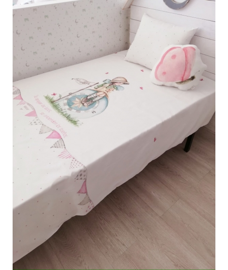 EXPLORER GIRL - Bed 90x190
