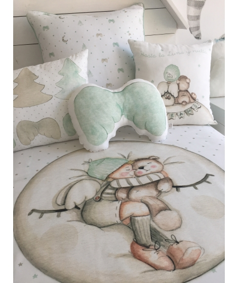 "OUTLET - ""Fairy balloons"" Rug"