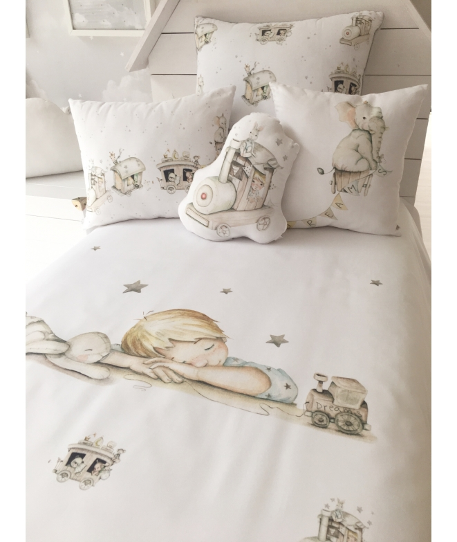 "PERSONALIZED COT / BED CLOTHING ""DREAMS III"""