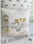 "PERSONALIZED COT / BED CLOTHING ""DREAMS I"""