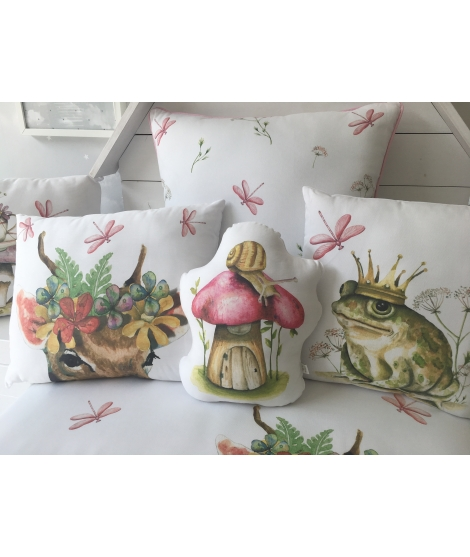"OUTLET - Children cushion ""Knight"""