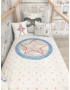 "PERSONALIZED COT / BED CLOTHING ""UNICORN I"""
