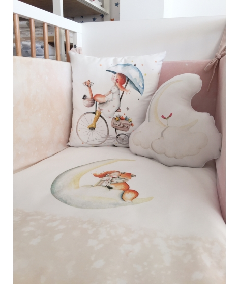MOON ON THE CLOUD Pillow Nunit