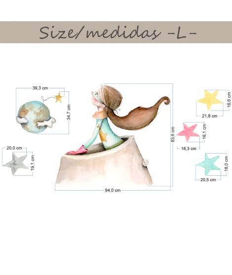 "Baby Blanket personalized ""Animals I"" -"