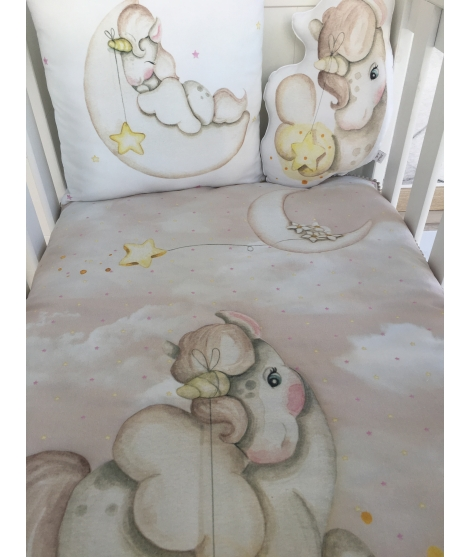 UNICORN BACKGROUND SAND - Blanket