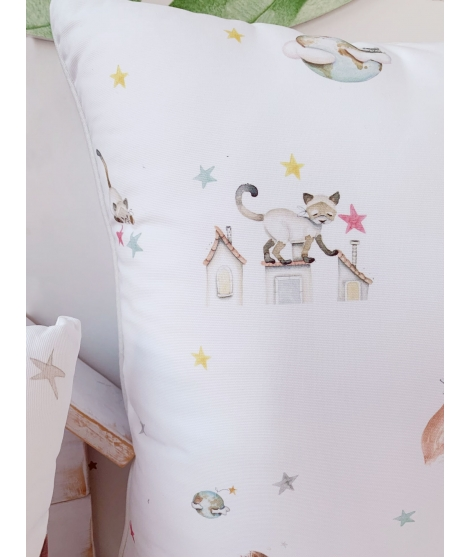 "Personalised children bathrobe ""Fox"""